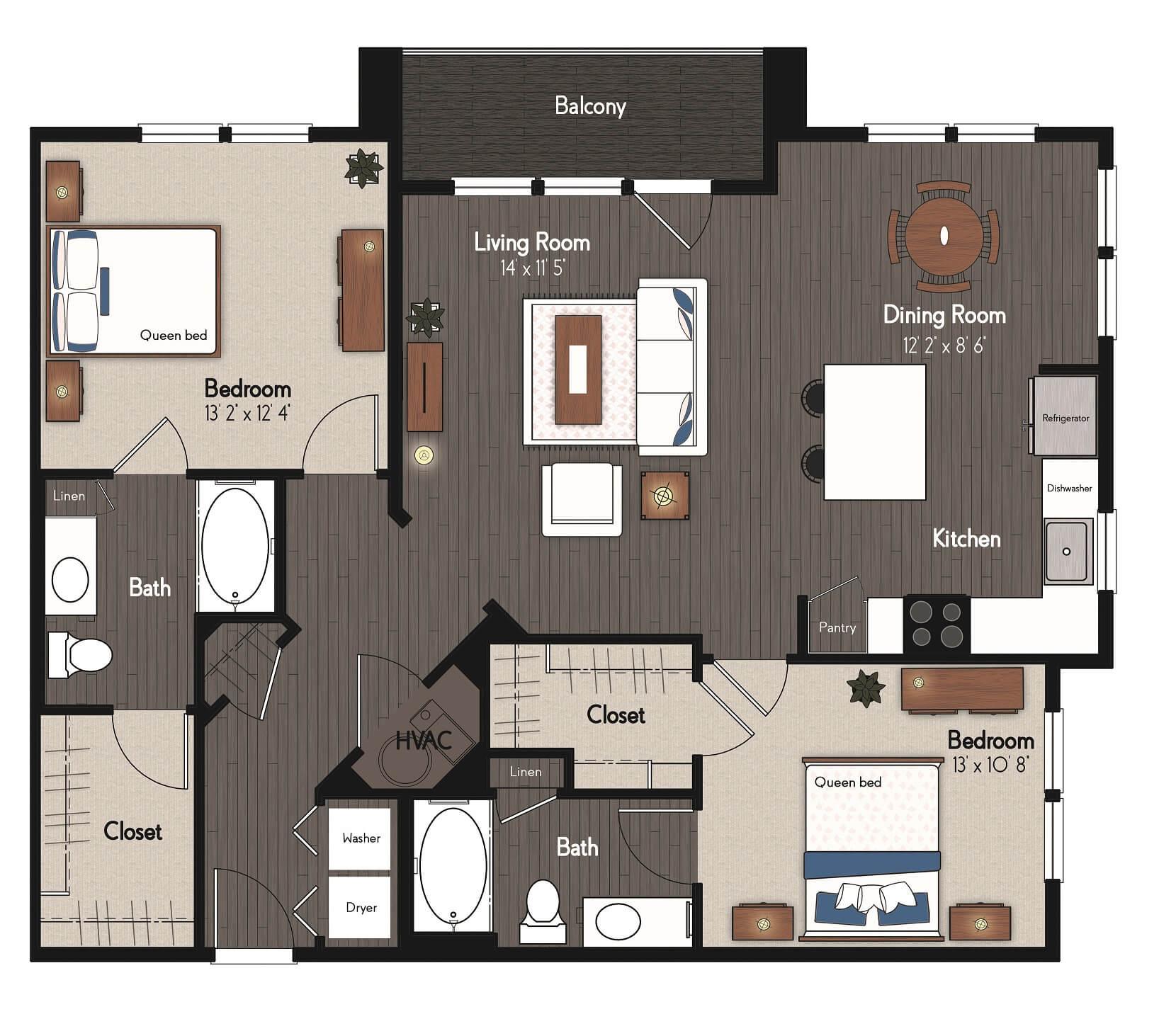 Floor Plan Broadmoor63 By Broadmoor Broadmoor